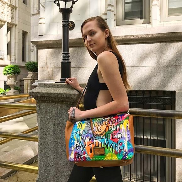 Valentino Handbags - VALENTINO Rockstud Trapeze Customized W/ JPO Graff